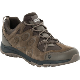 Jack Wolfskin Rocksand Texapore Low Shoes Men dark wood
